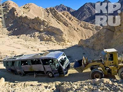 Автобус DAF Irisar после аварии