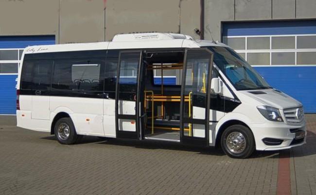 Автобусы на базе Mercedes-Benz от компании URALTRUCKS