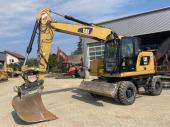 Caterpillar M315F 2018 Экскаватор  1740  Подготовка для гидромолота, отвал, камера заднего хода, кондиционер, резина 50% 134000 Euro EXW EU