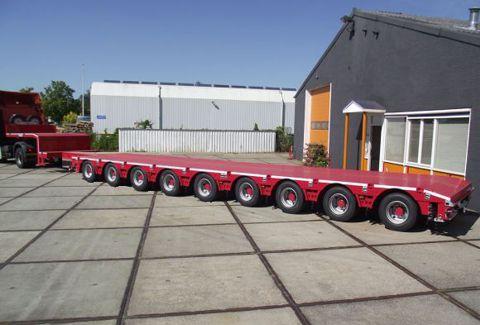 Трал для перевозки грузов массой до 120 тонн не шире 3500 мм